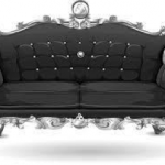 A royal love seat for your formal living room
