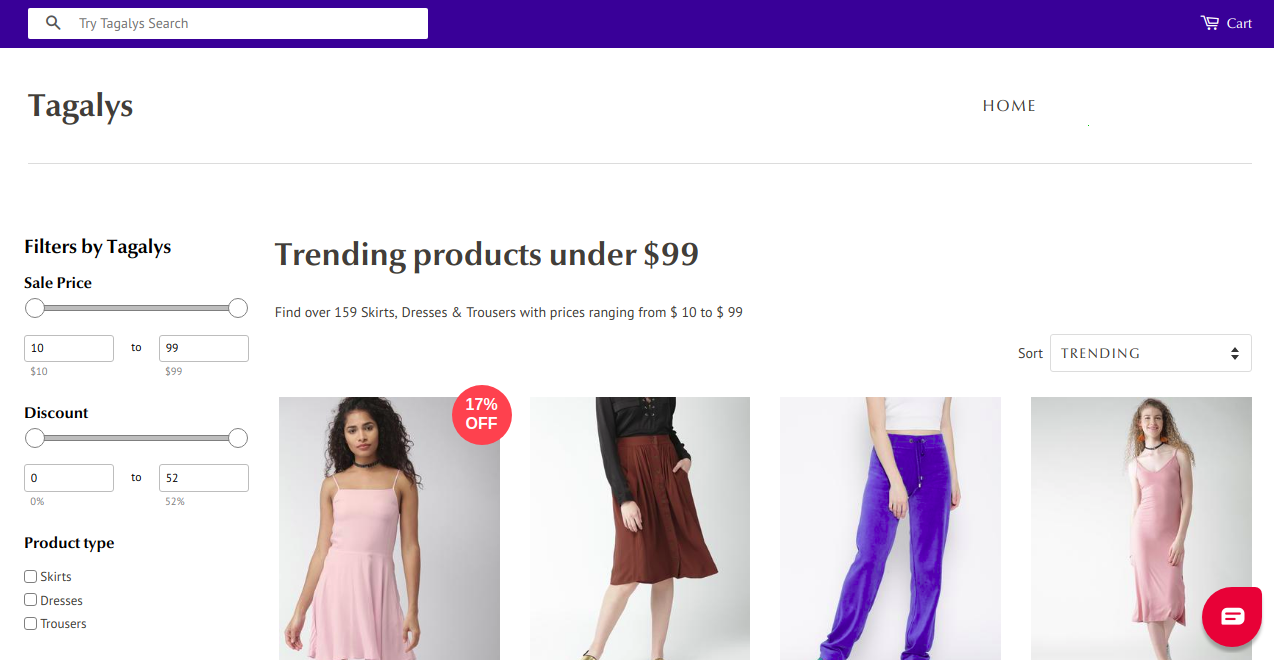 Category pages in eCommerce