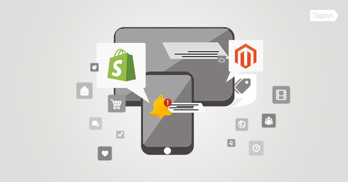 Top 10 push notifications for Magento and Shopify