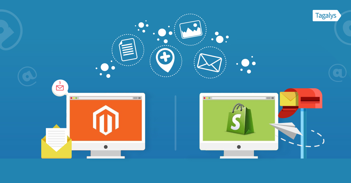email marketing software for Magento and Shopify eCommerce
