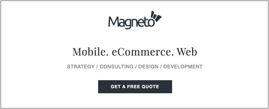 Magento eCommerce Development Agencies- Magneto IT Solutions