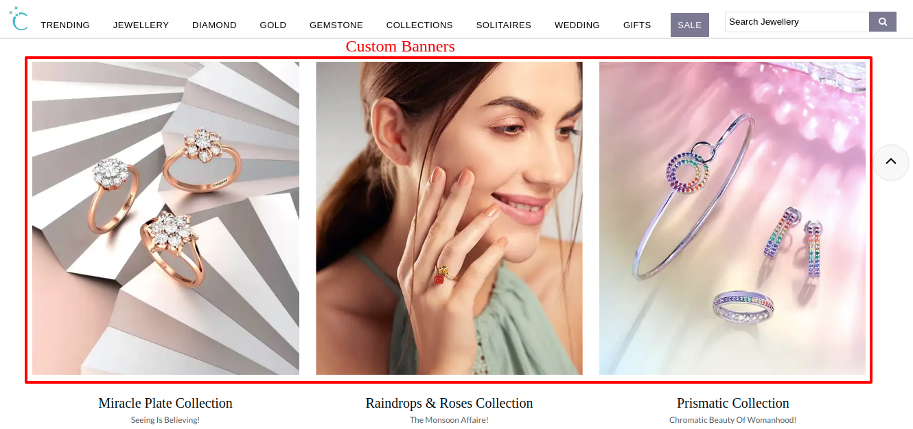 eCommerce banners